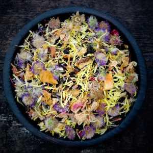Органический цветочный чай