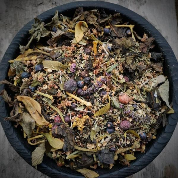 Еловый чай «Велесова ночь»