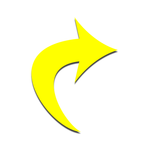 Chaz Jackson Motivational Youth Speaker yellow curved arrow pointing right