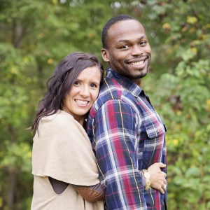 Chaz Jackson Family Motivational Youth Speaker and wife