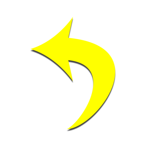 Chaz Jackson Motivational Youth Speaker yellow curved arrow pointing left