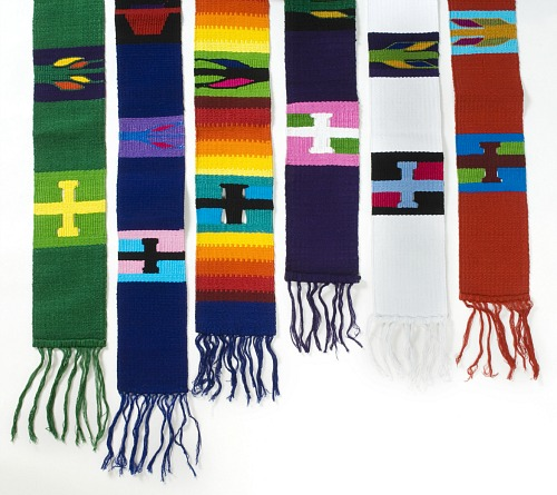 Image result for rainbow stole