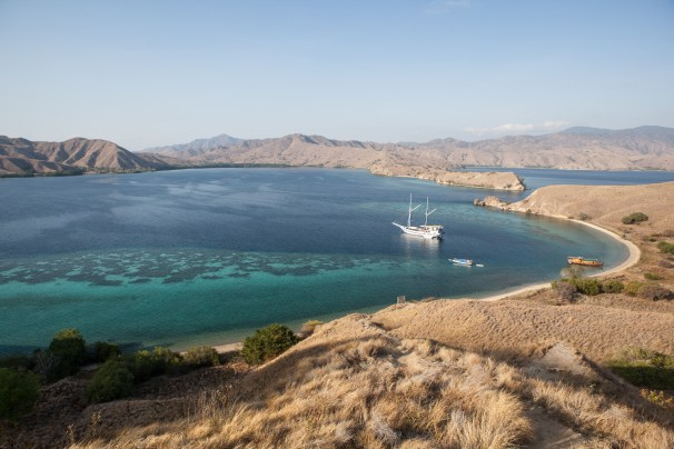 Beautiful Lagoon in Komodo National Park