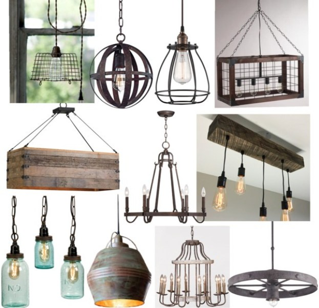 Country Kitchen Chandelier Lighting