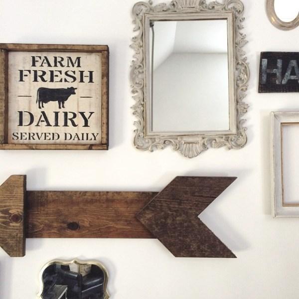 farm fresh dairy sign