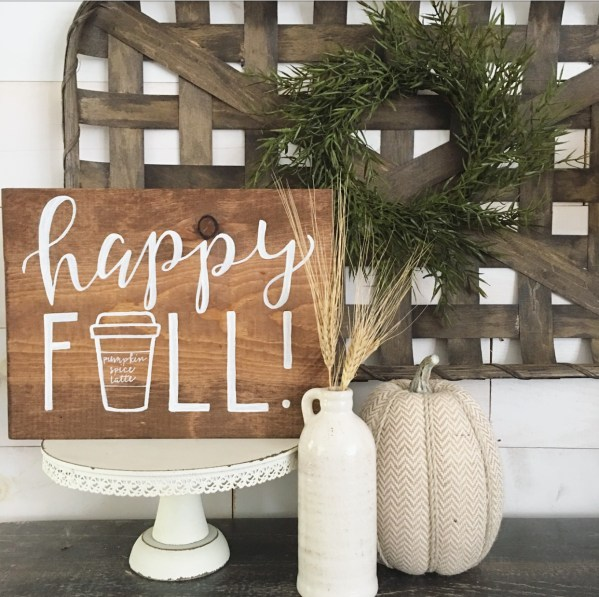 happy fall sign_152