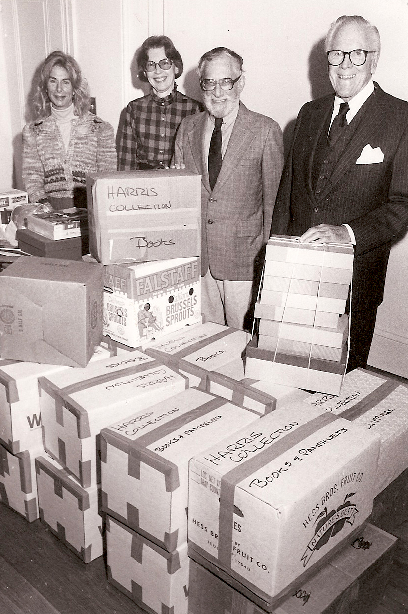 1987 – The Harris Collection is the first significant donation to the Archives