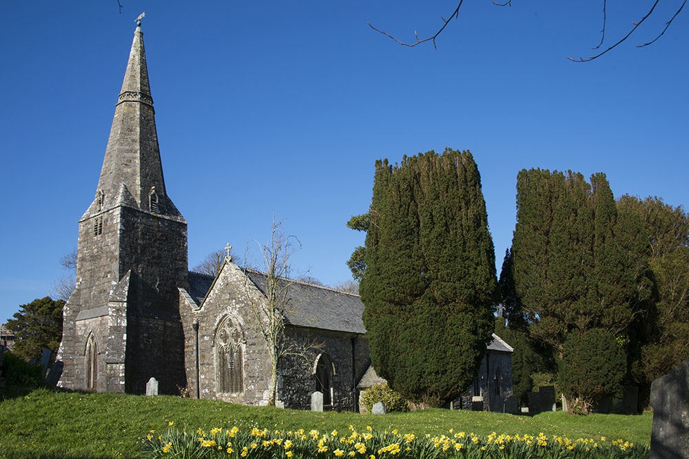 All Saints, St Ewe