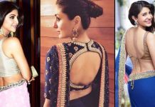 Back blouse designs