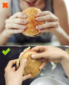 Eating Burgers
