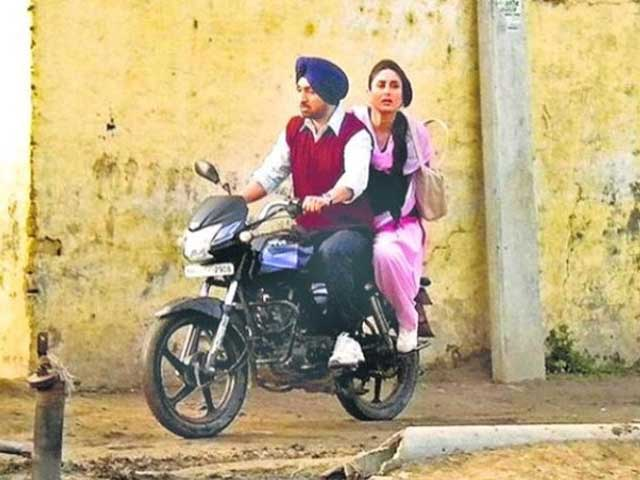 Kareena Kapoor and Diljit Dosanj