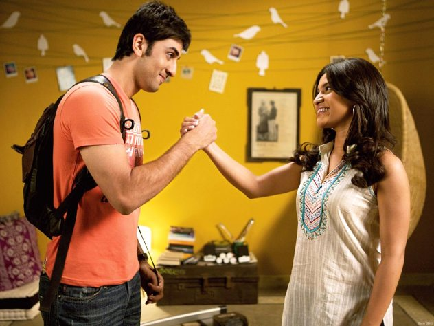 Konkana Sen Sharma and Ranbir Kapoor