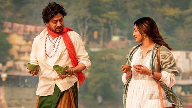 Parvathi and Irrfan Khan