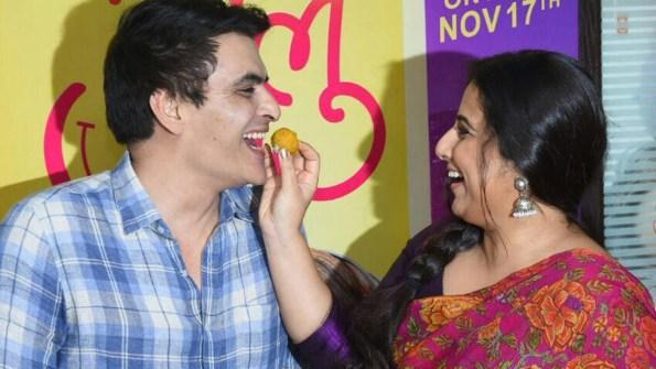 Vidhya Balan and Manav Kaul