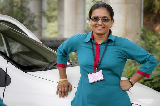 lady cab driver
