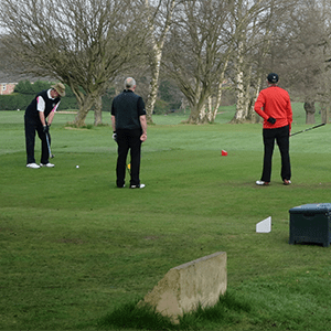 First tee at Cheadle Golf Club