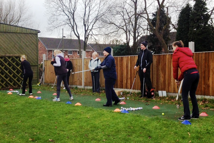 Group lessons at Cheadle Golf Club