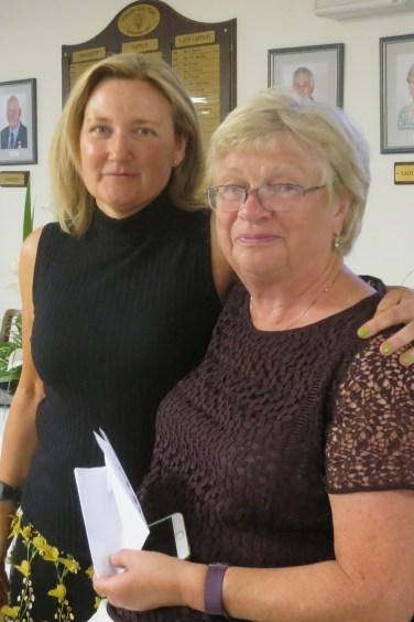 Jane Munro Tom's Prize winner