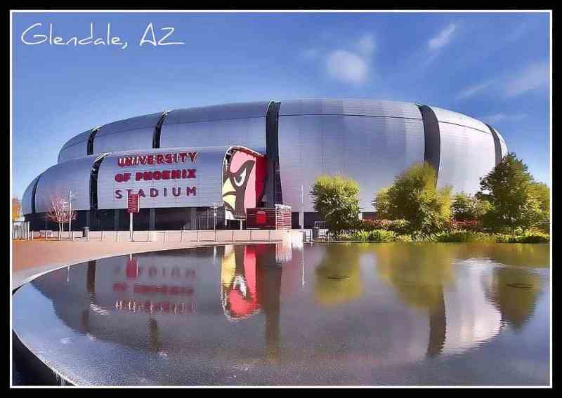 Cardinals Stadium on the West Side of Phoenix