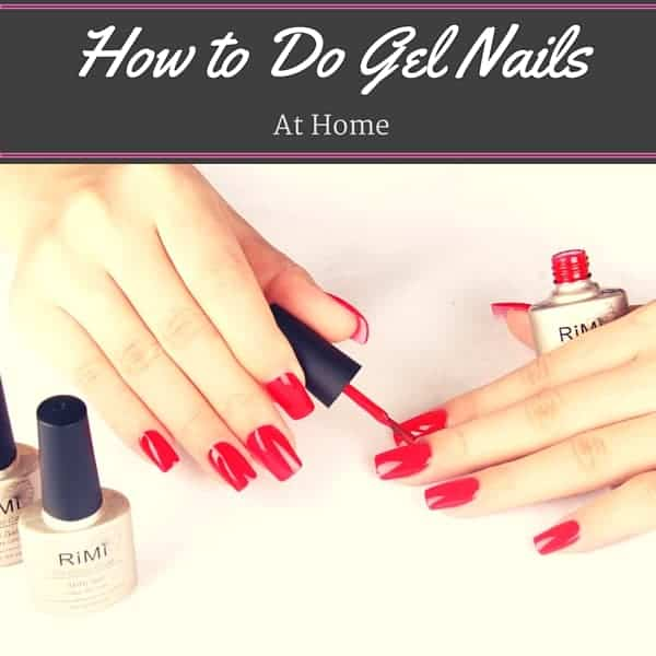 Gel Nails At Home Step by Step - Cheap and Cheeky