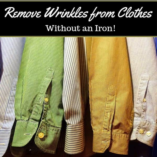 How to Quickly Remove Wrinkles from Clothes Without an Iron