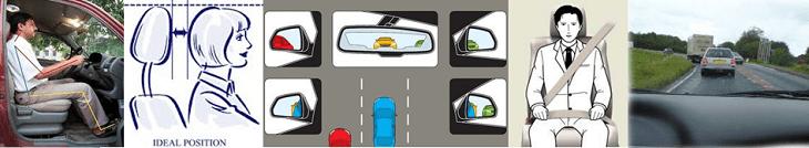 comfortable & safe drivers