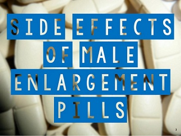 male enhancement pills side effects