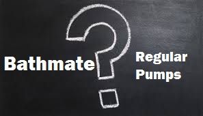 comparison of bathmate and regular pumps