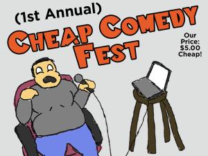 Cheap Comedy Fest Flyer