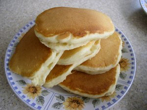 use homemade baking mix for pancakes