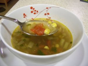 Mexican Inspired Chicken Soup