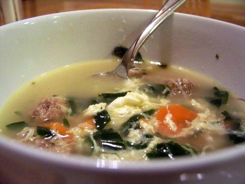 Stracciatelle Soup