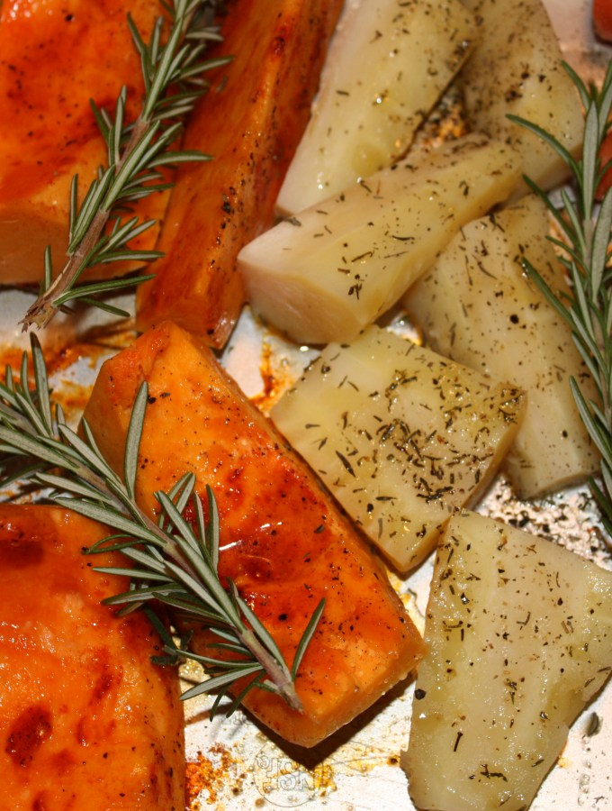 Roast Potatoes, Parsnips and Butternut Squash