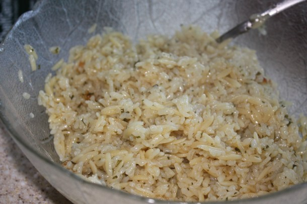 orzo with rice