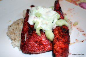 Salmon Tikka