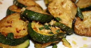 Basic Frittata and Marinated Zucchini