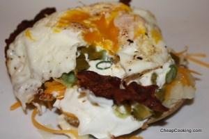 egg-on-potato