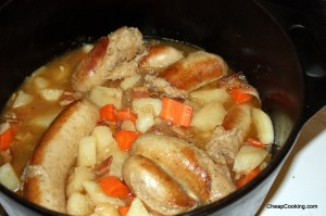 irish coddle