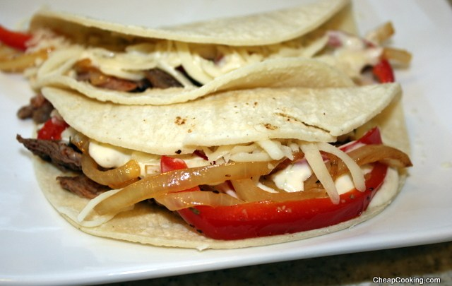 Leftover Flank Steak Turned Into Tacos
