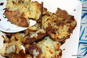 smashed baked potatoes