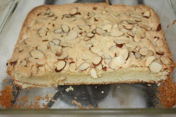 chewy almond squares