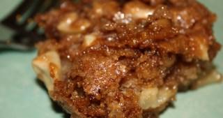 Mom's Apple Walnut Cake
