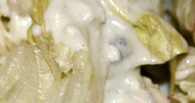 Blue Cheese Dressing with Three Ingredients