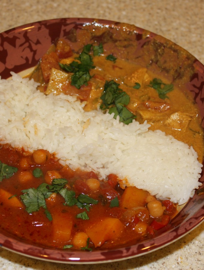Vegetable Jalfrezi Curry