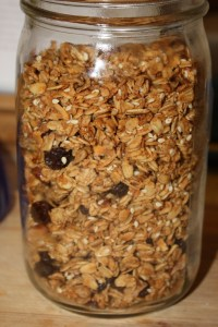 small batch granola recipe