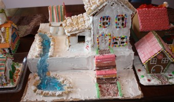 Gingerbread for a Gingerbread House