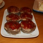 mini maple meatloaves