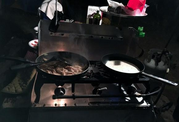 Camping Dinner Ideas: Fajitas