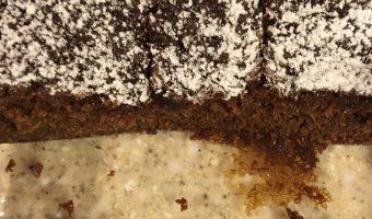 Yogurt or Sour  Cream Gingerbread Cake