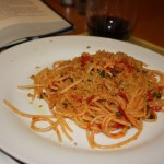 Quick Spaghetti with Tomatoes and Capers
